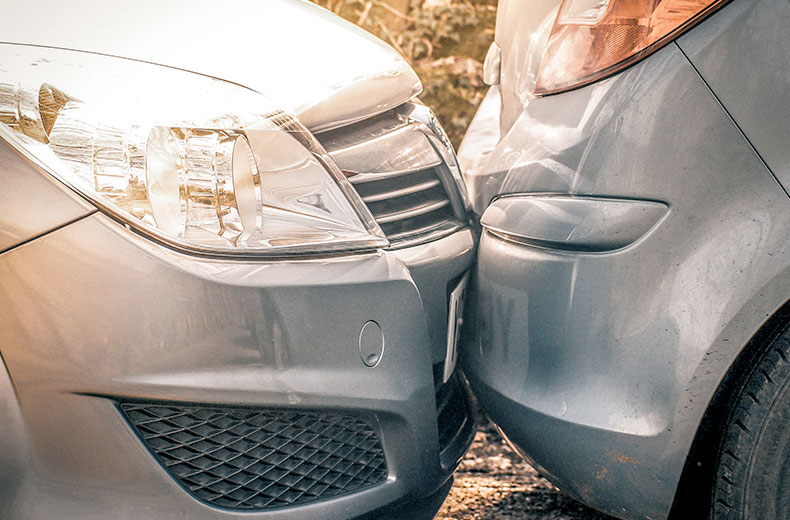 Used car accident check