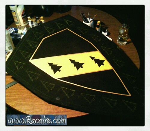 2016-11_Racaire_Conrads-new-shield-for-crown-tournament_progress_1