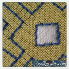 Craft with Racaire – Project #2 – Pouch #1 - Step 1.1 - Hand sewing stitches: Running Stitch & more thoughts about hand sewing