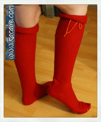 Racaire medieval stockings - 14th century stockings - woman's hose - tight fitted hand-sewn medieval stockings