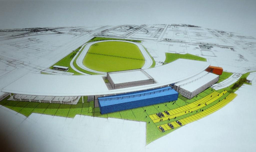 Takto vyzerá na papieri časť vizualizácie jedného z troch predložených projektov. Koncept sa však upravuje a dopĺňa, verejnosti ho predstavia 7. mája v NKD.