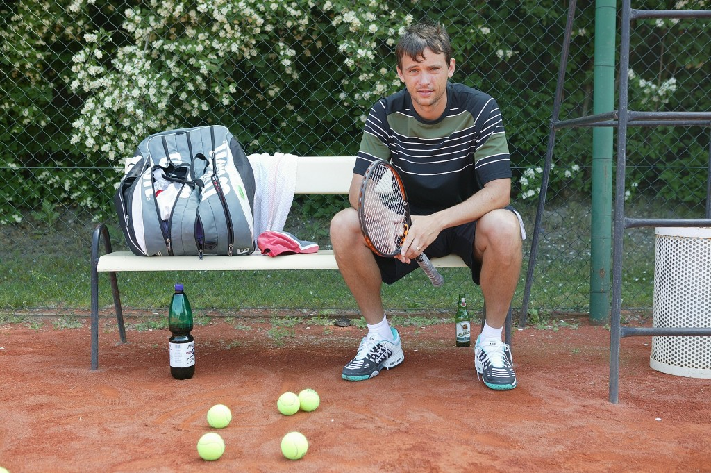 Bývalý slovenský tenista Ján Krošlák ukončil kariéru v roku 2004.