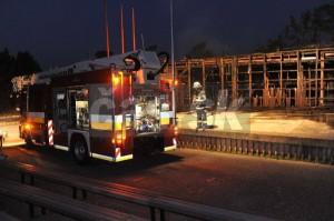 Amfiteáter vyhorel 19. júla 2010.