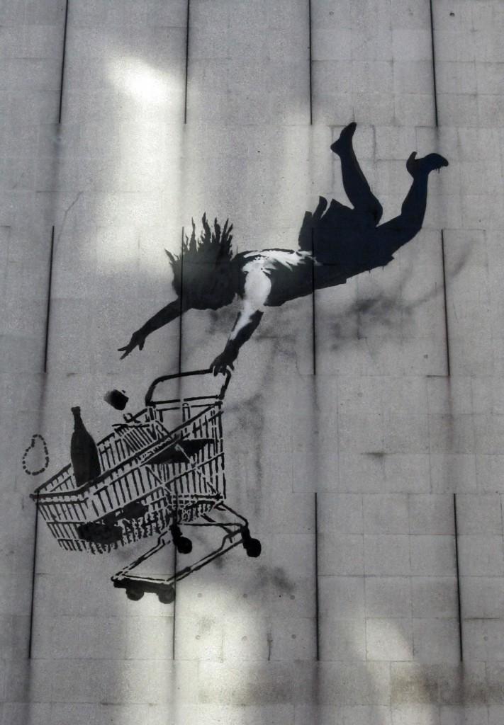 Banksy štýl sa objavuje po celom svete...