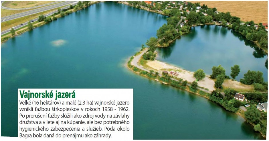 Vajnorské jazerá, Báger