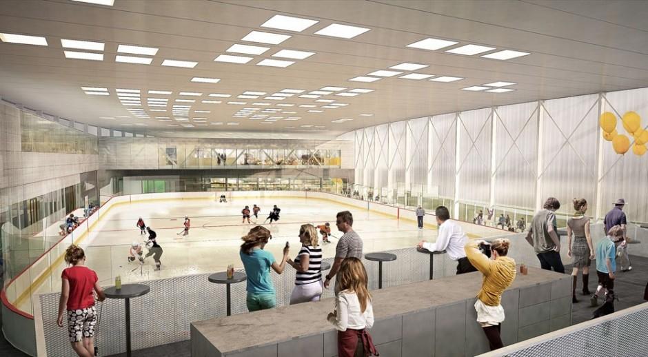 Vráti sa na račiansku športovú scénu po rokoch opäť aj hokej? Pripravovaná LBG Aréna plánuje s vybudovaním tréningovej hokejovej resp. korčuliarskej haly v pripravovanom areáli na Černockého resp. Hečkovej ulici.