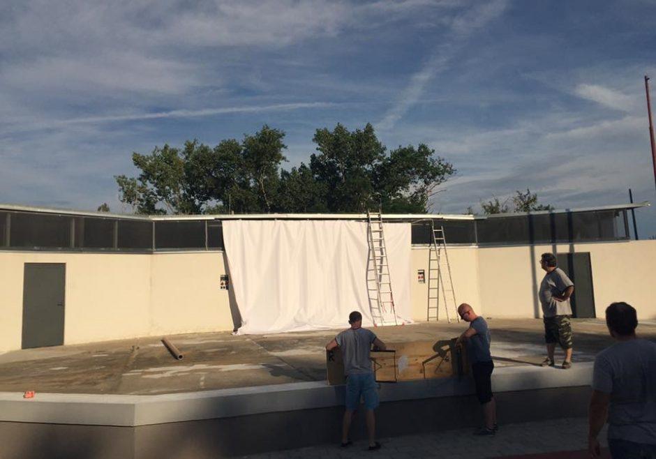 V amfiteátri Knižkova dolina už pripravujú prvé predstavenie Letného kina.