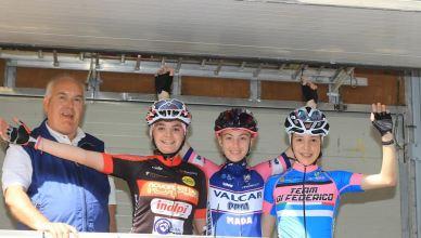 Carlotta Fantini sul podio