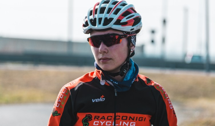 Francesca Colombo in allenamento