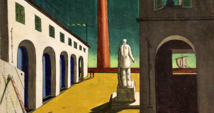Una natura inquietante: Giorgio De Chirico