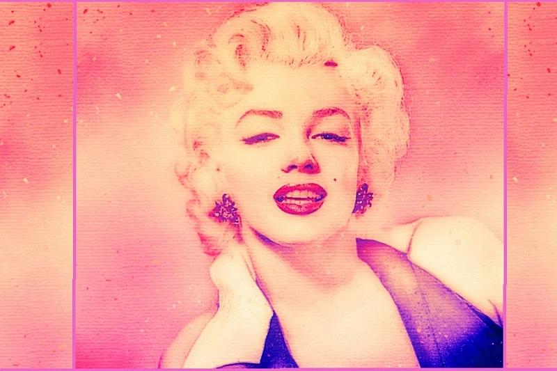 La bocca che brucia: la storia di Marilyn Monroe