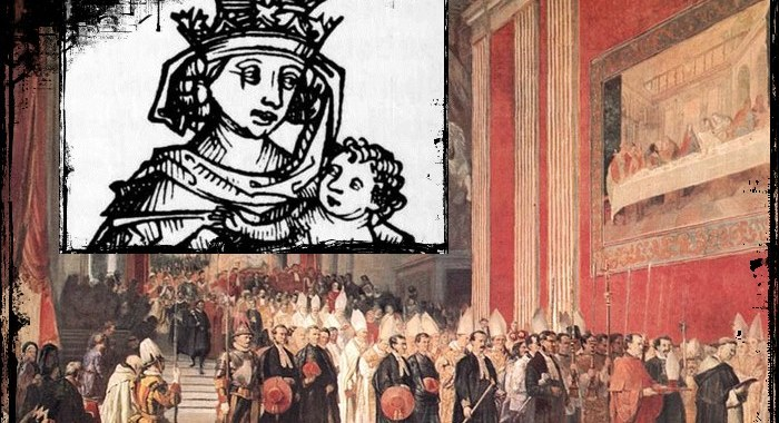 La Papessa Giovanna: donna al soglio pontificio