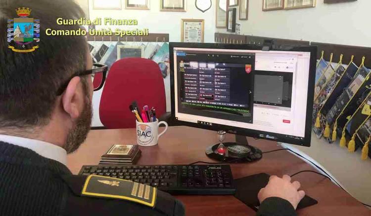 Maxi operazione contro la pirateria informatica