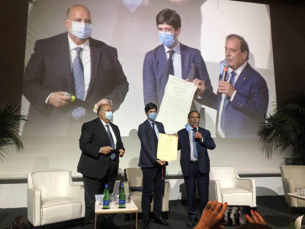 Il Ministro Roberto Speranza: diritto alla salute!