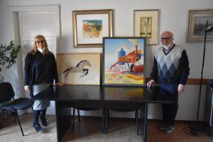 Francesco Amante dona oltre 25 opere d'arte