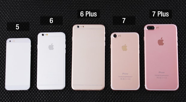 Iphone 6 Plus Vs Iphone 7 Plus Porównanie