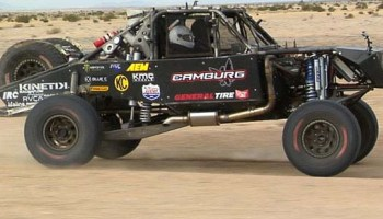Kinetik Trophy Truck shock test Video – race-deZert com