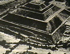 Meso-American pyramid