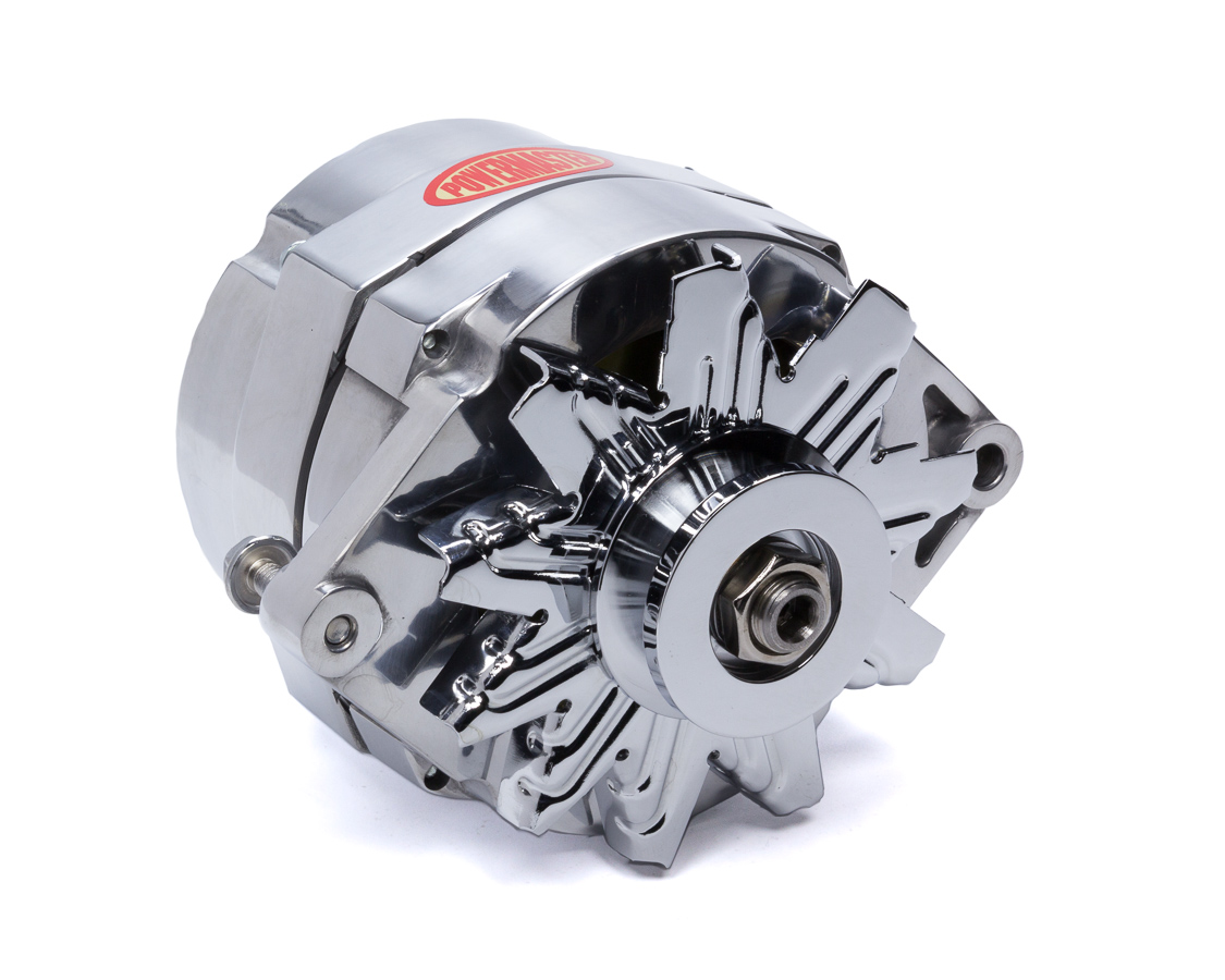 hight resolution of powermaster performance alternator gm 10si 1v pulley 100 amp po