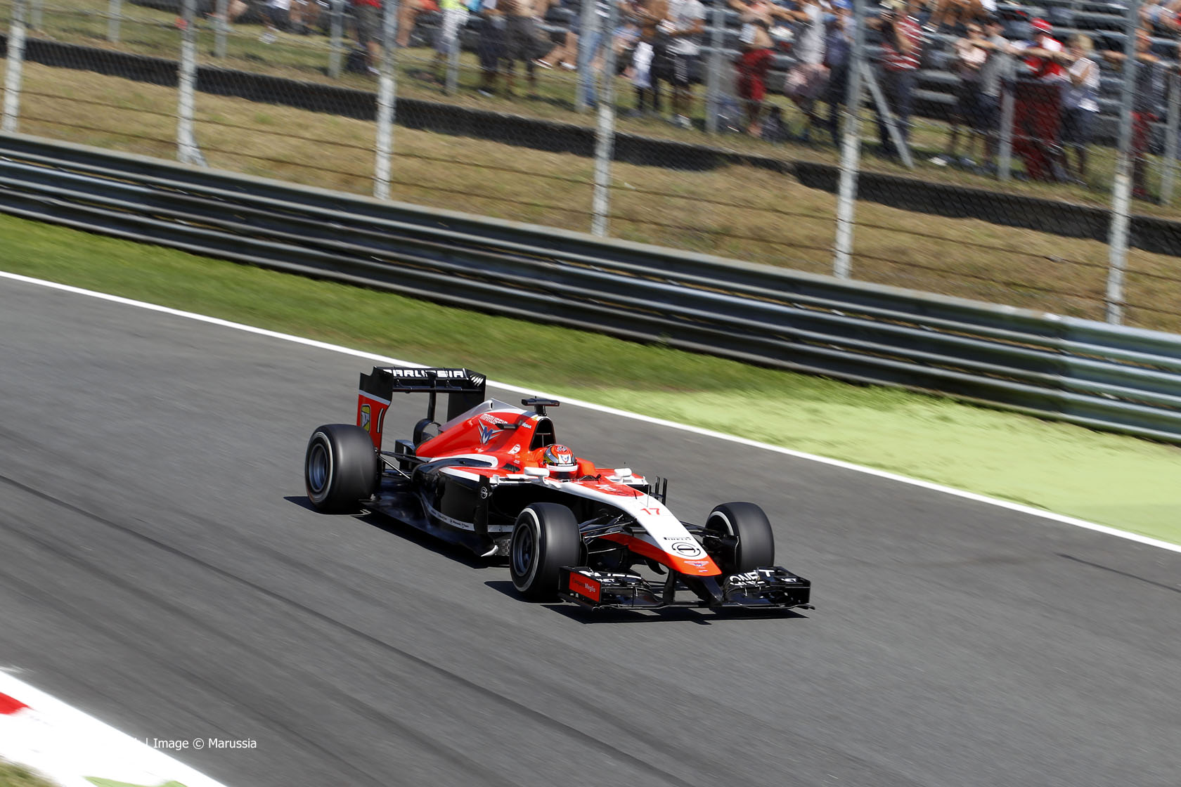 hight resolution of jules bianchi marussia monza 2014