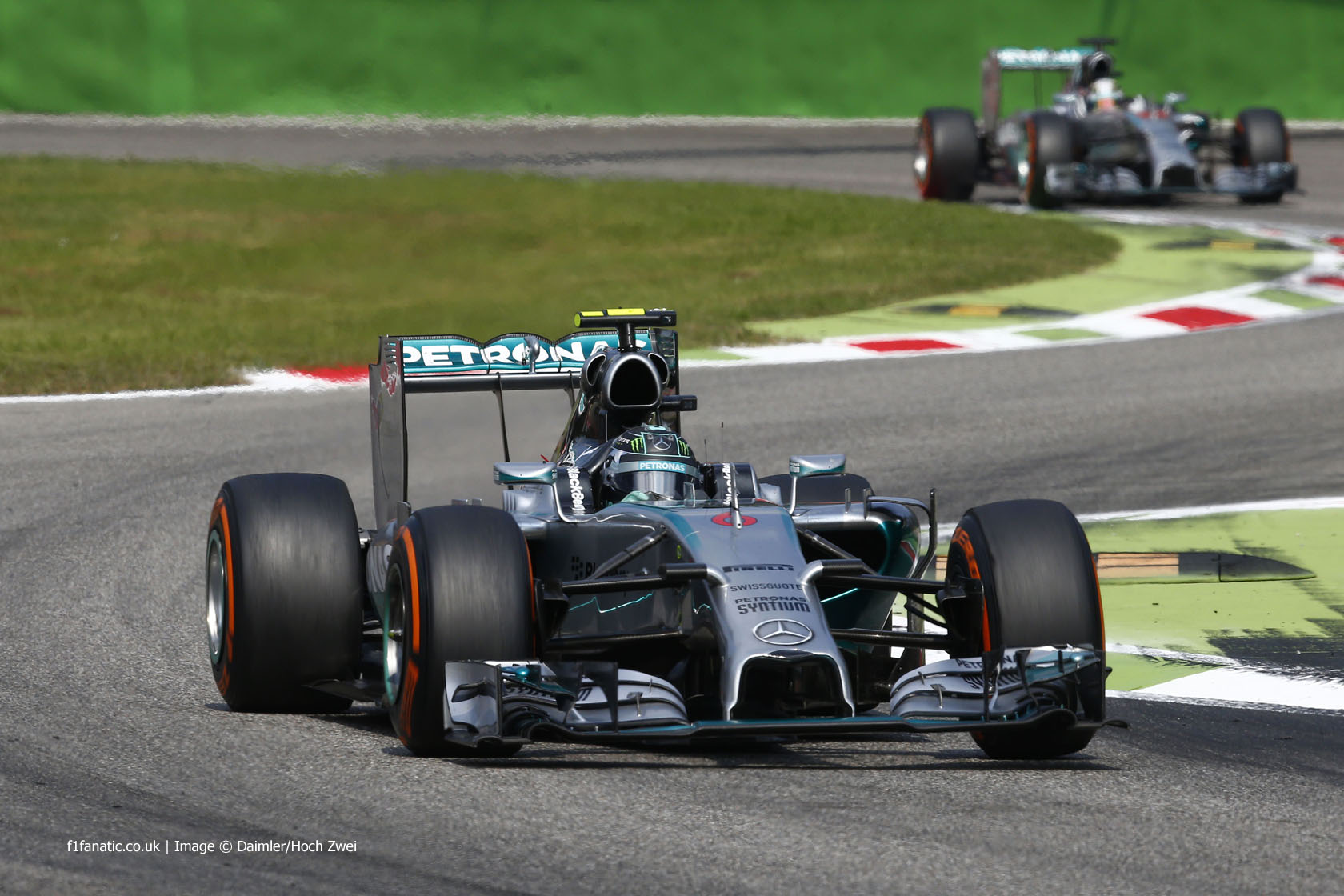 hight resolution of nico rosberg mercedes monza 2014