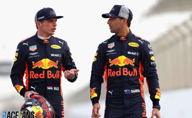 Daniel Ricciardo Feared Playing Support Role To Max