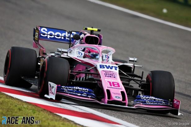 Lance Stroll, Racing Point, Shanghai International Circuit, 2019