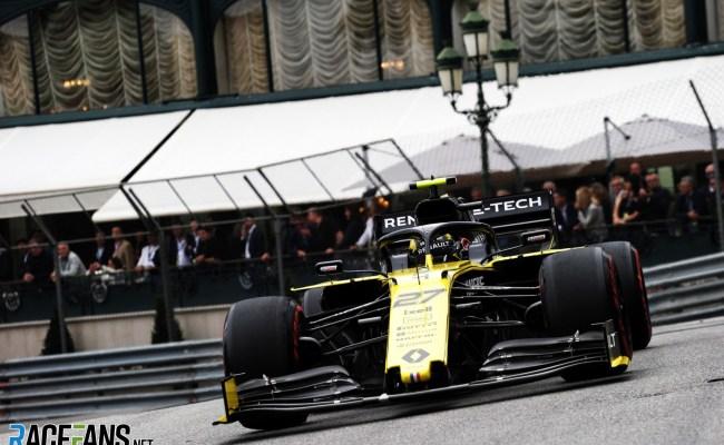 Nico Hulkenberg Renault Monaco 2019 Racefans