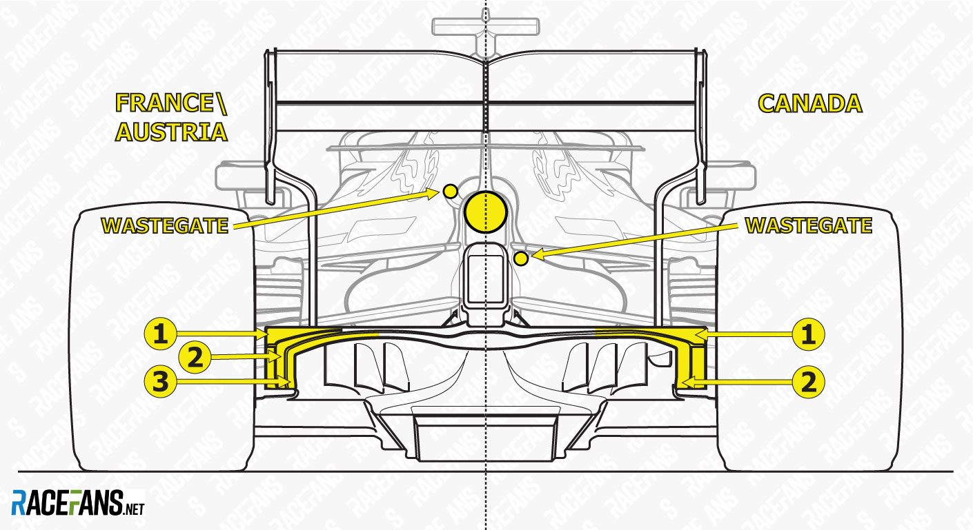 hight resolution of red bull rear comparison france and austria 2019