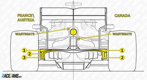 small resolution of red bull rear comparison france and austria 2019