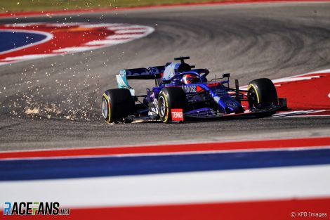 Daniil Kvyat, Toro Rosso, Circuit of the Americas, 2019