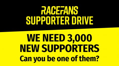 RaceFans Supporter Drive