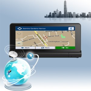 Piattaforma multimediale Android Unit GPS Europe 3G 6.86 Pollici Android 5.0 Car Navigation 1G RAM 16G ROM 1