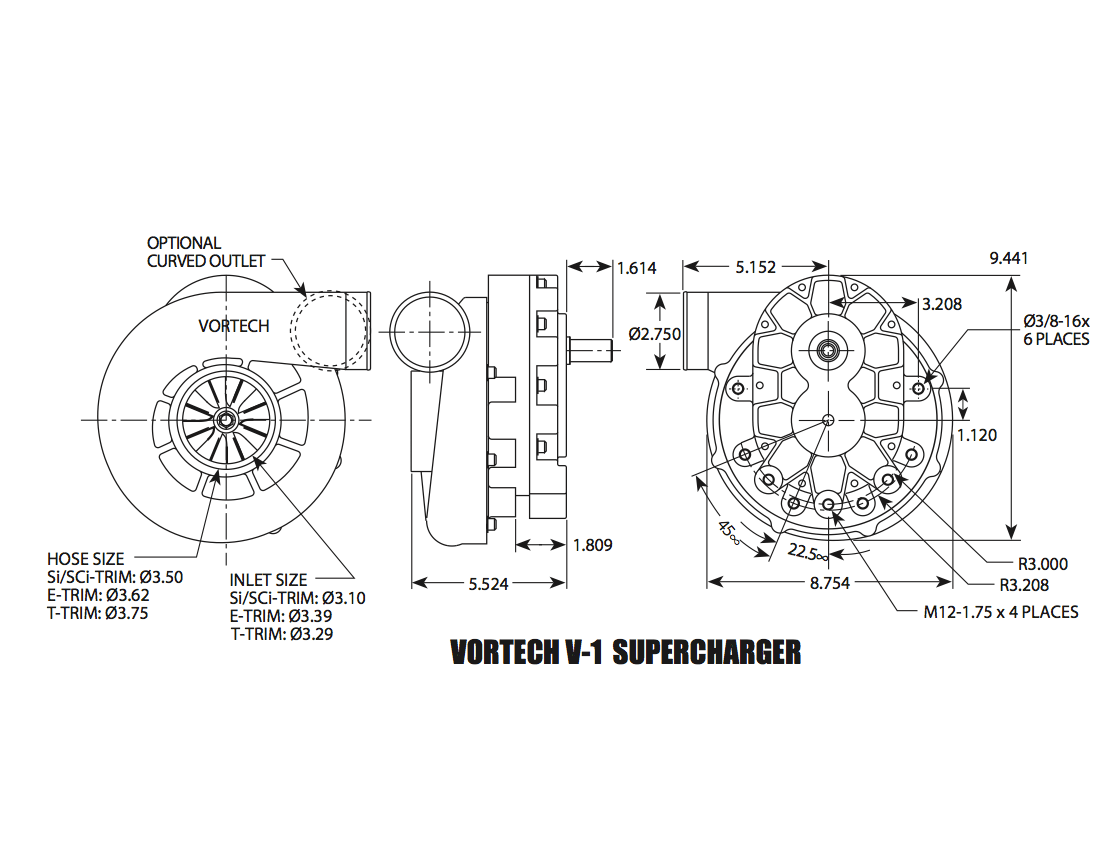 Vortech V1 Ti Race Supercharger
