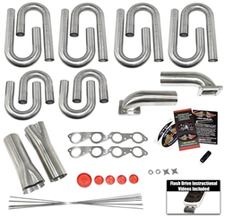 Big Block Chevy Round Port Turbo Header Build Kit- Our Pro