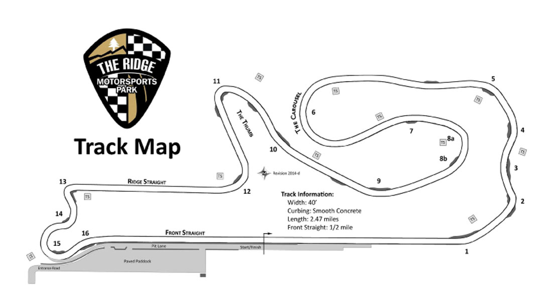 Track Walk: The Ridge Motorsports Park – Racer on Rails
