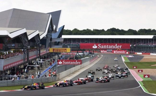 British F1 Grand Prix Stays At Silverstone For Another 5