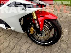 CBR 600 F 2012 Blanco Race Danny Rene Lotze Racevinyl