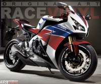 Honda CBR 1000 RR 2013 adhesivos Racevinyl vinilos llantas stickers rim vinyl