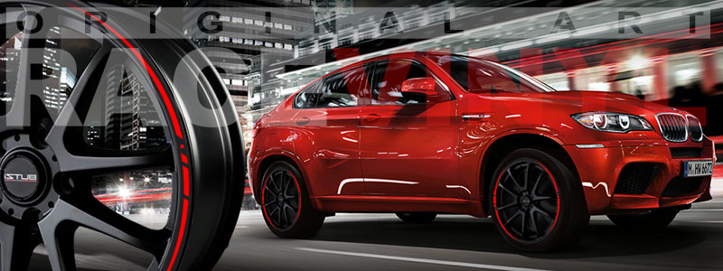 Racevinyl BMW 1 3 5 7 6 8 m3 m5 x5 x3 vinilo vinyl rojo