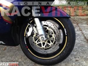 Racevinyl Honda CBR 900 RR 92 99 Fireblade Adhesivos llanta pegatina vinilo SPEED vinyl rim sticker 01