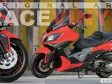 Kymco Xciting 400i, 125, 250, 500R, Racevinyl Color Catalog