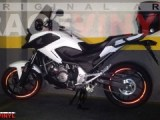 Honda NC 700 X with Red Reflectant Race Stickers Rim with Honda Logos