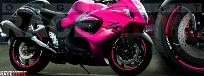 Suzuki Hayabusa generico rosa