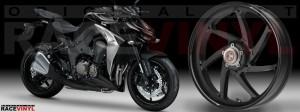 Racevinyl Kawasaki Z1000 ARROW pegatina vinilo llanta adhesivo rim sticker stripes wheel cromado