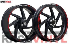 Descripcion  Honda CB 1000 R Hornet adhesivo pegatina vinilo llanta rueda moto sticker vinyl rim stripe
