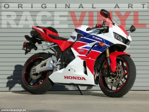 Racevinyl Honda CBR 600 RR 2014 pegatina vinilo llanta rueda moto adhesivo rim sticker kit wheel vinyl