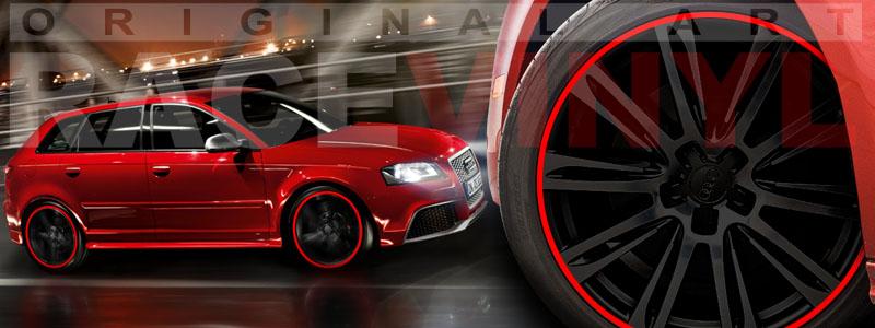 Racevinyl Standard Car Rim Stripe