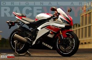 _Racevinyl Wallpaper YAMAHA YZF R6 600 R Thundercat pegatinas adhesivos llanta vinilo rim sticker stripes moto