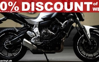 Offer of the Week, 30% Discount Yamaha MT-07